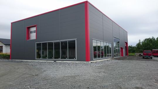 Årnes - Jeka Maskin - Superhall® Stålhall