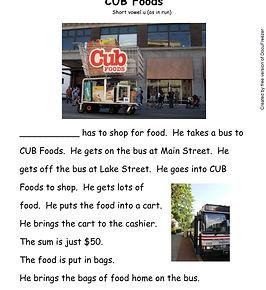 Printables - Story By Story - U - Cub Fo