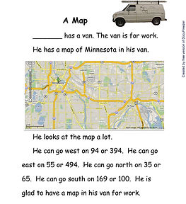Printables - Story By Story - A - A Map-