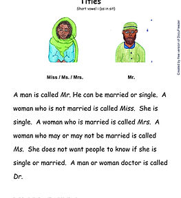 Printables - Story By Story - I - Titles