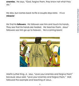 Easter High-Beginner-on-Peace-and-Forgiv