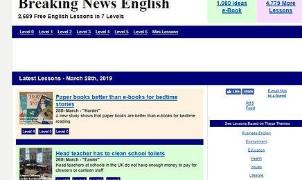 ESL websites - Breaking News.jpg