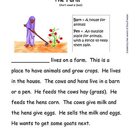 Printables - Story By Story - E - The Fa