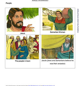 Printables - Bible Stories - Jesus and t