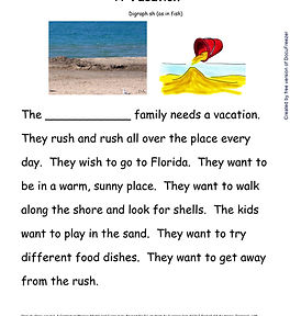 Printables - Story By Story - Digraph -