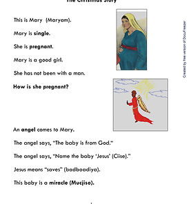 Printables - Holidays - Christmas -Begin