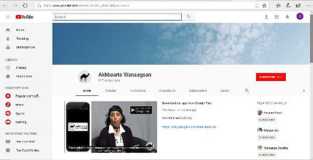 Websites in Somali - Wanaagsan - The Goo