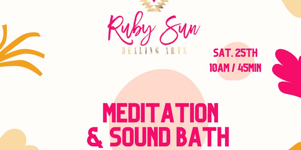 Fall Equinox - Meditation & Sound Bath
