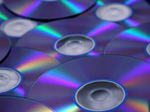 blank DVDs