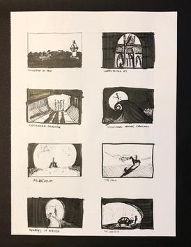 Pen and Ink Movie Stills - Rendering