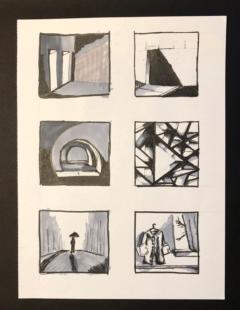 Pen and Ink Thumbnails - Rendering