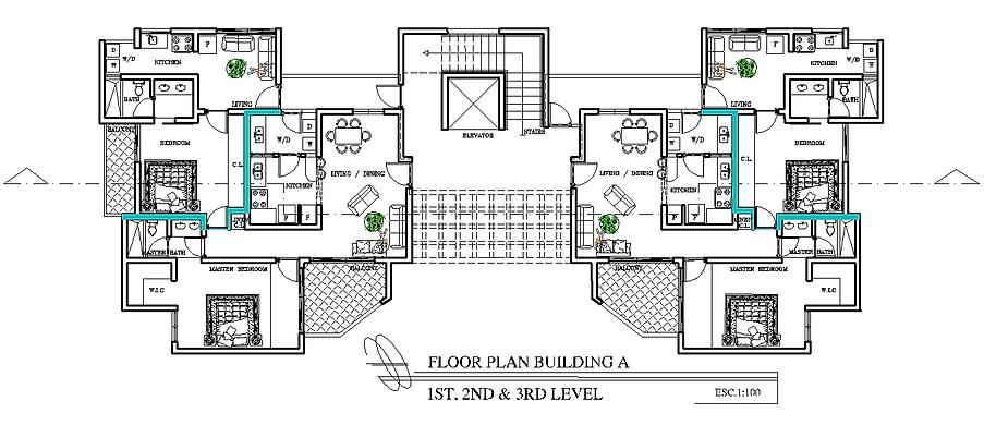 Building A - 2BR Condos.png