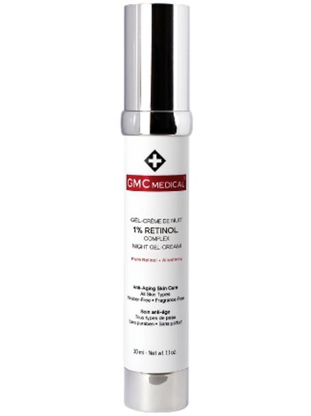 1% Retinol Night Gel-Cream - GMC Medical