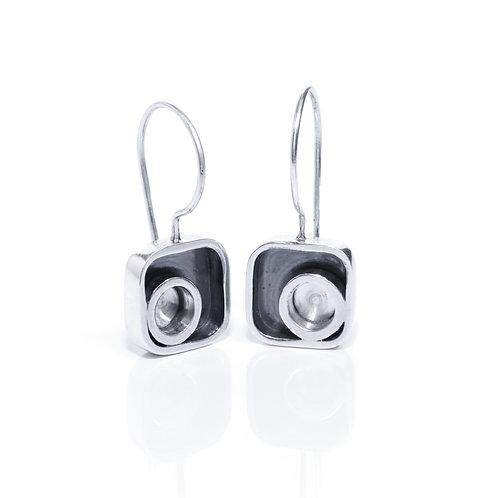 Modernist Drop Earrings