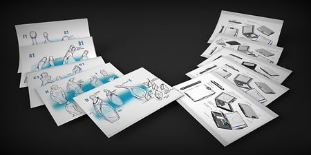 Industrial Design Concept Ideation