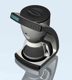 Coffee Maker Rendering