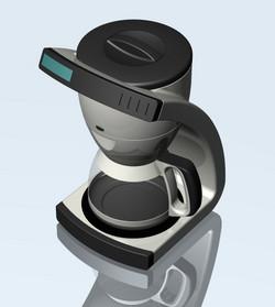 Coffee Maker Rendering