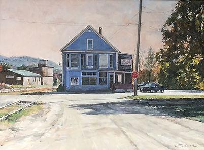 Lisals Market Vermont - Robert Schaar Art