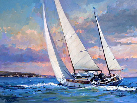 American Fine Art paintings - Sports Artist