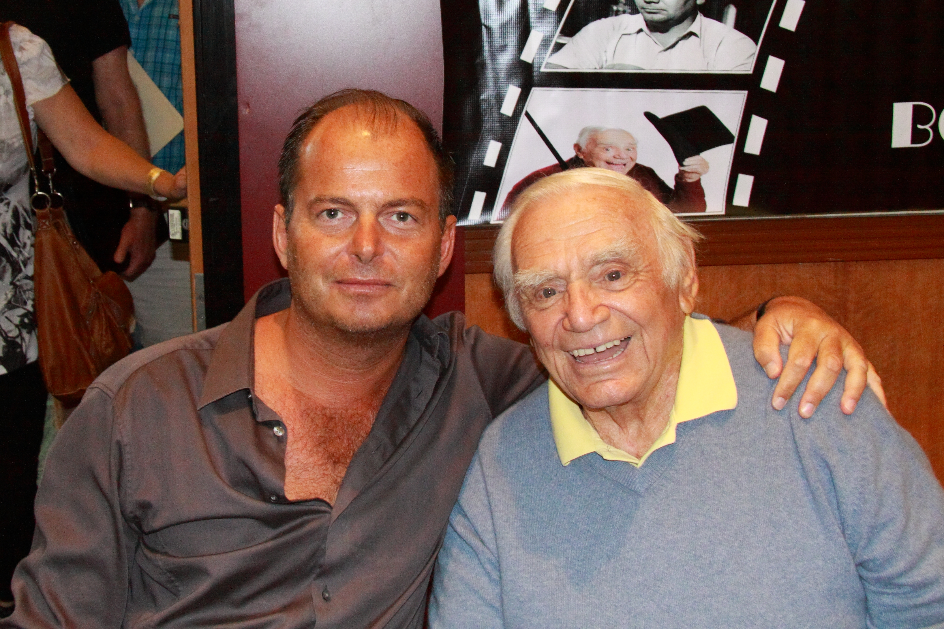 Serge Rocco and Ernest Borgnine