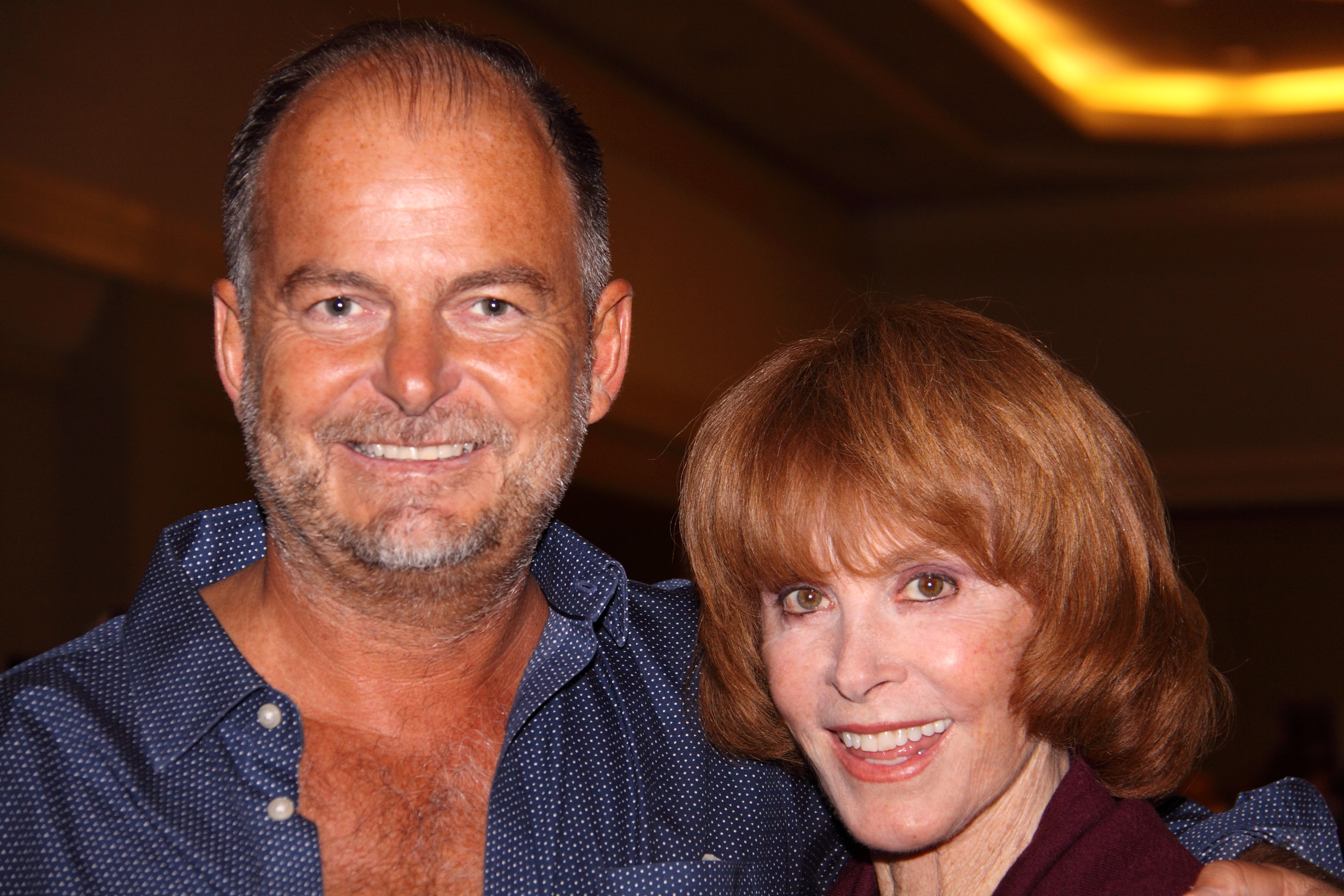 Serge Rocco and Stefanie Powers