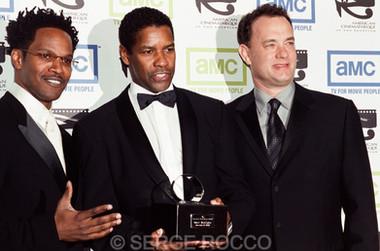 Denzel Washington and Tom Hanks