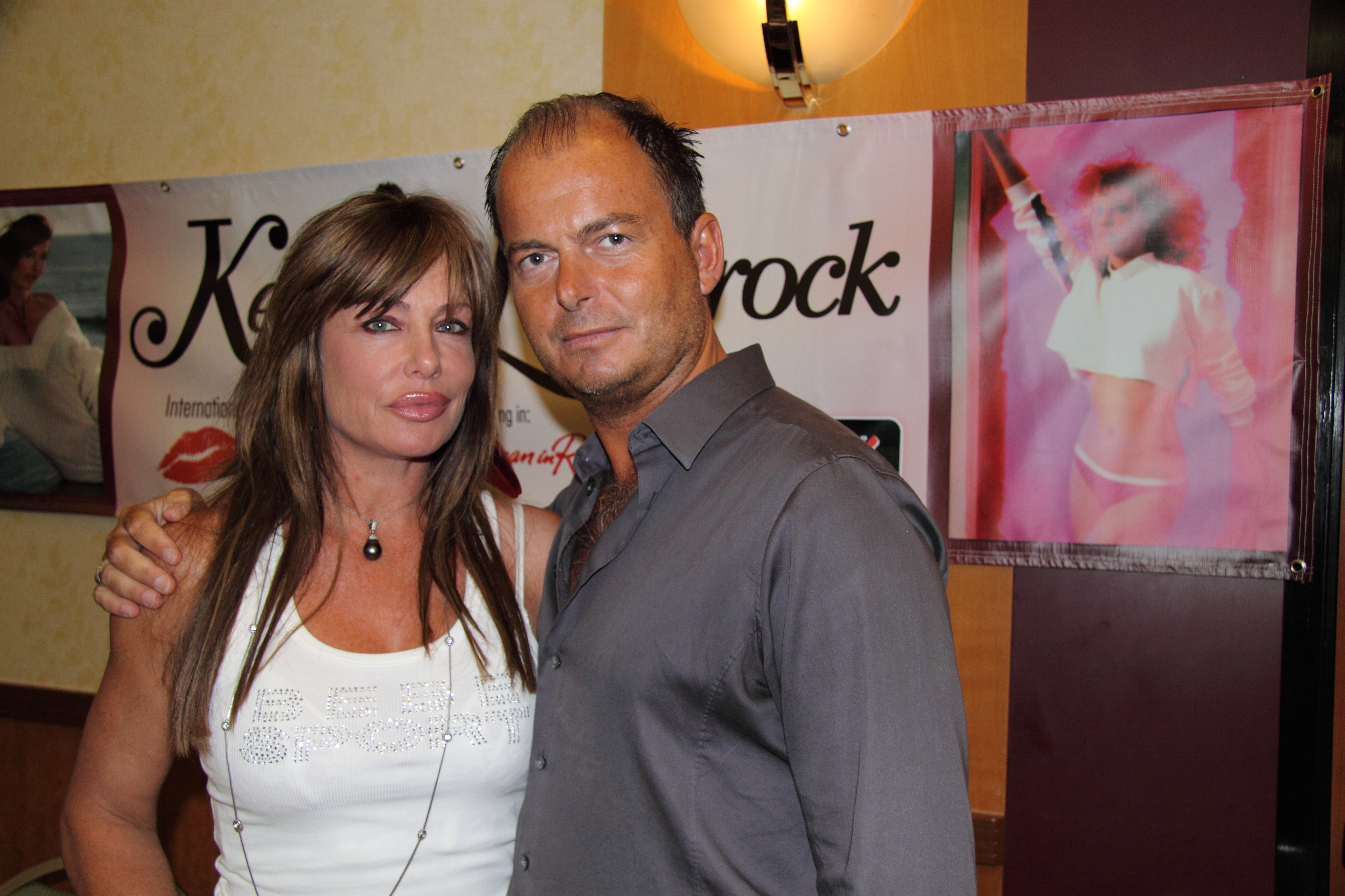 Kelly LeBrock and Serge Rocco