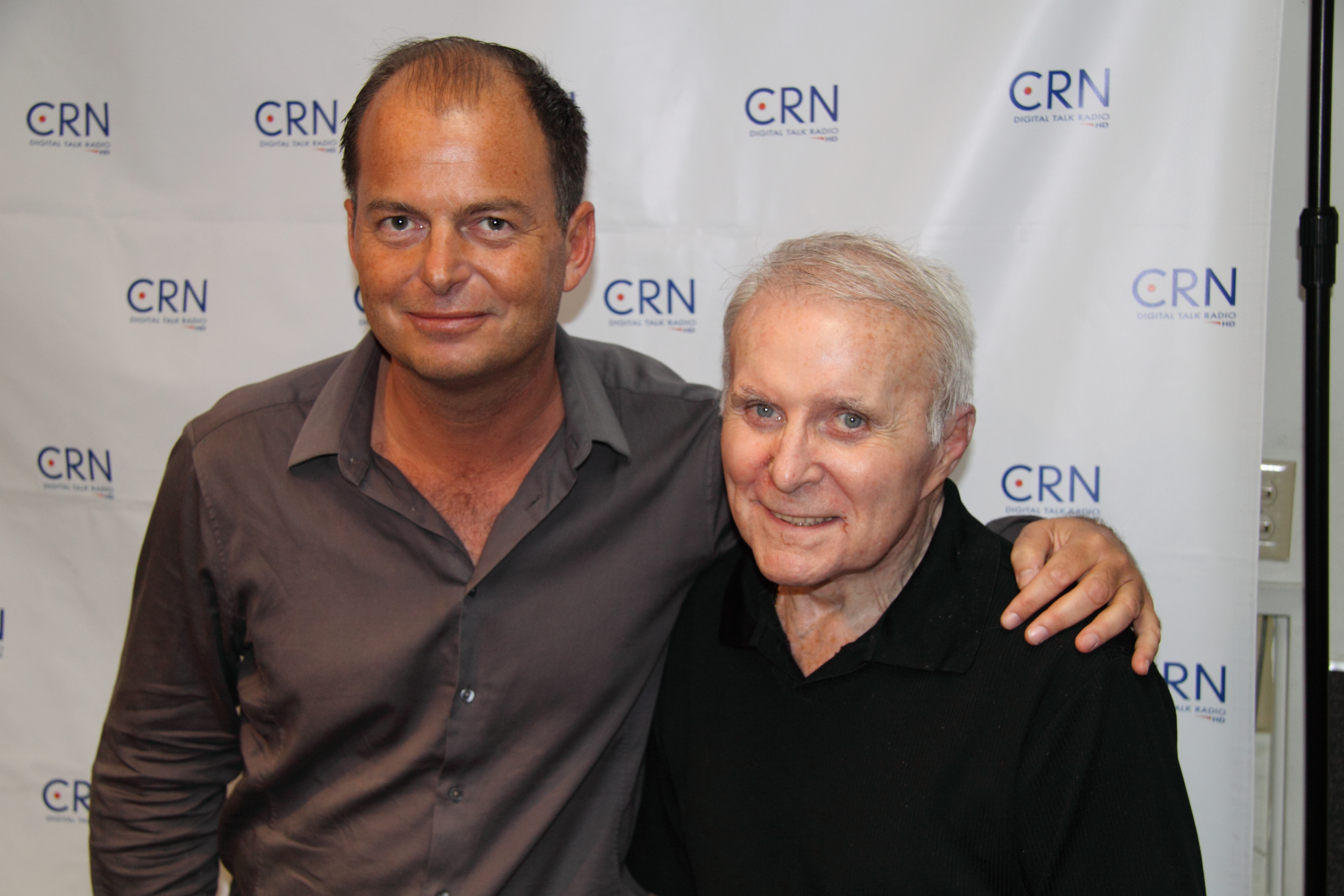 Serge Rocco and Robert Conrad