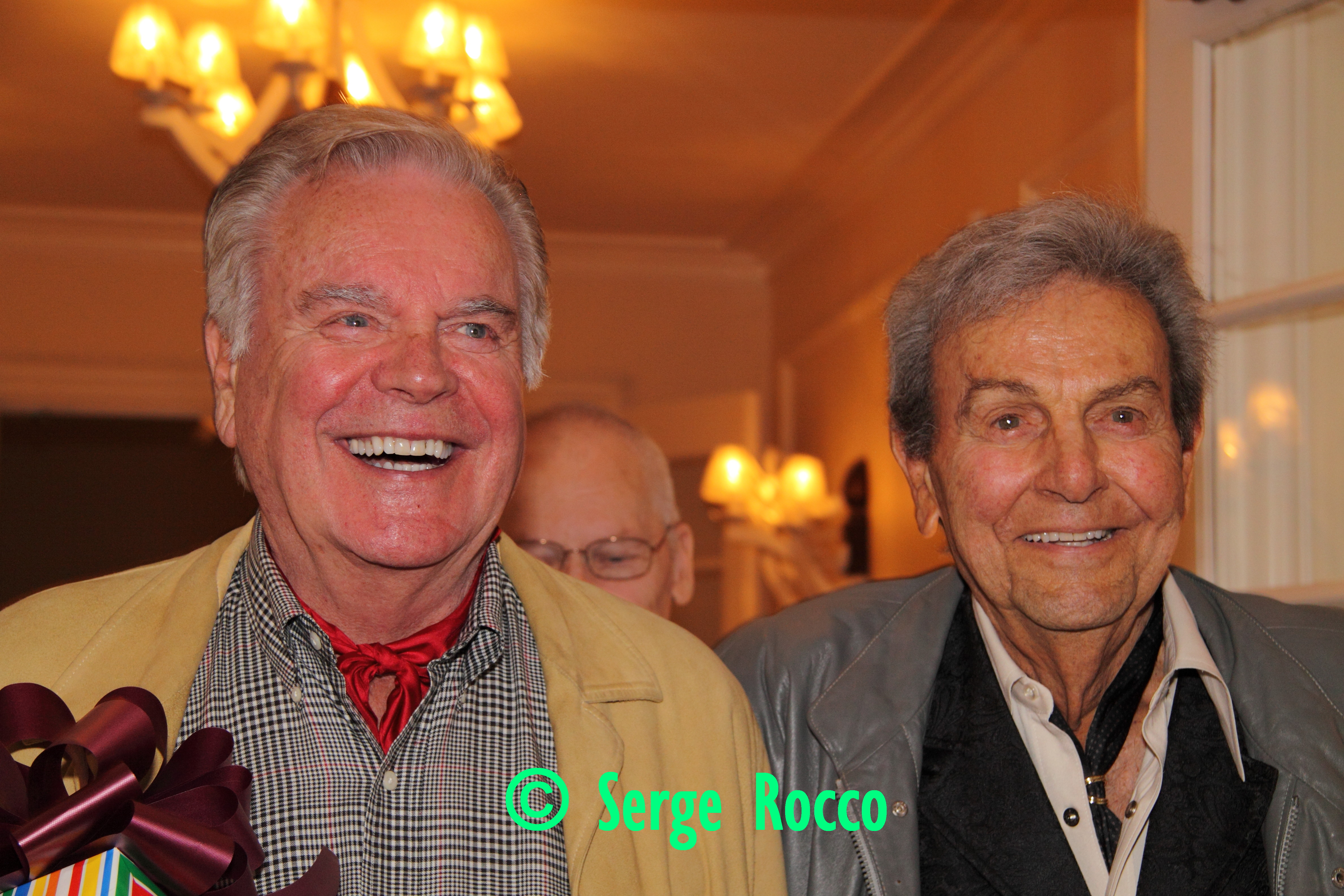 Robert Wagner and Mike Connors
