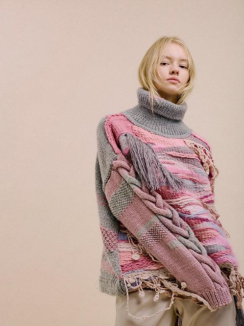 Тканый свитер