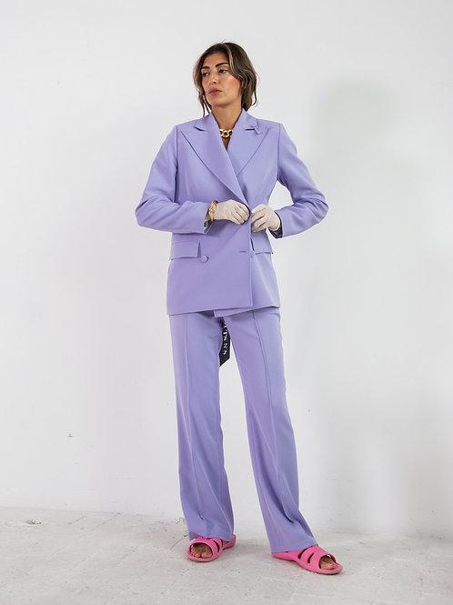 Лавандовый костюм