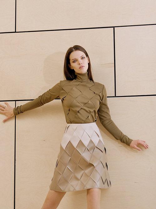 Плетеная юбка