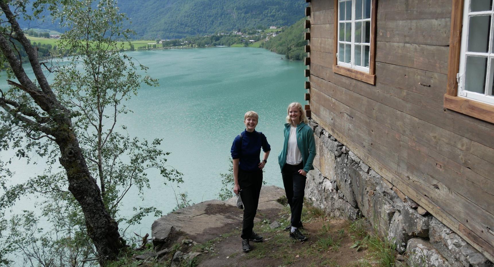 Visiting Wittgensteins Hut in Norway