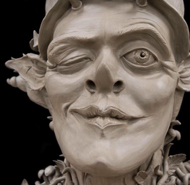 Clay Alien