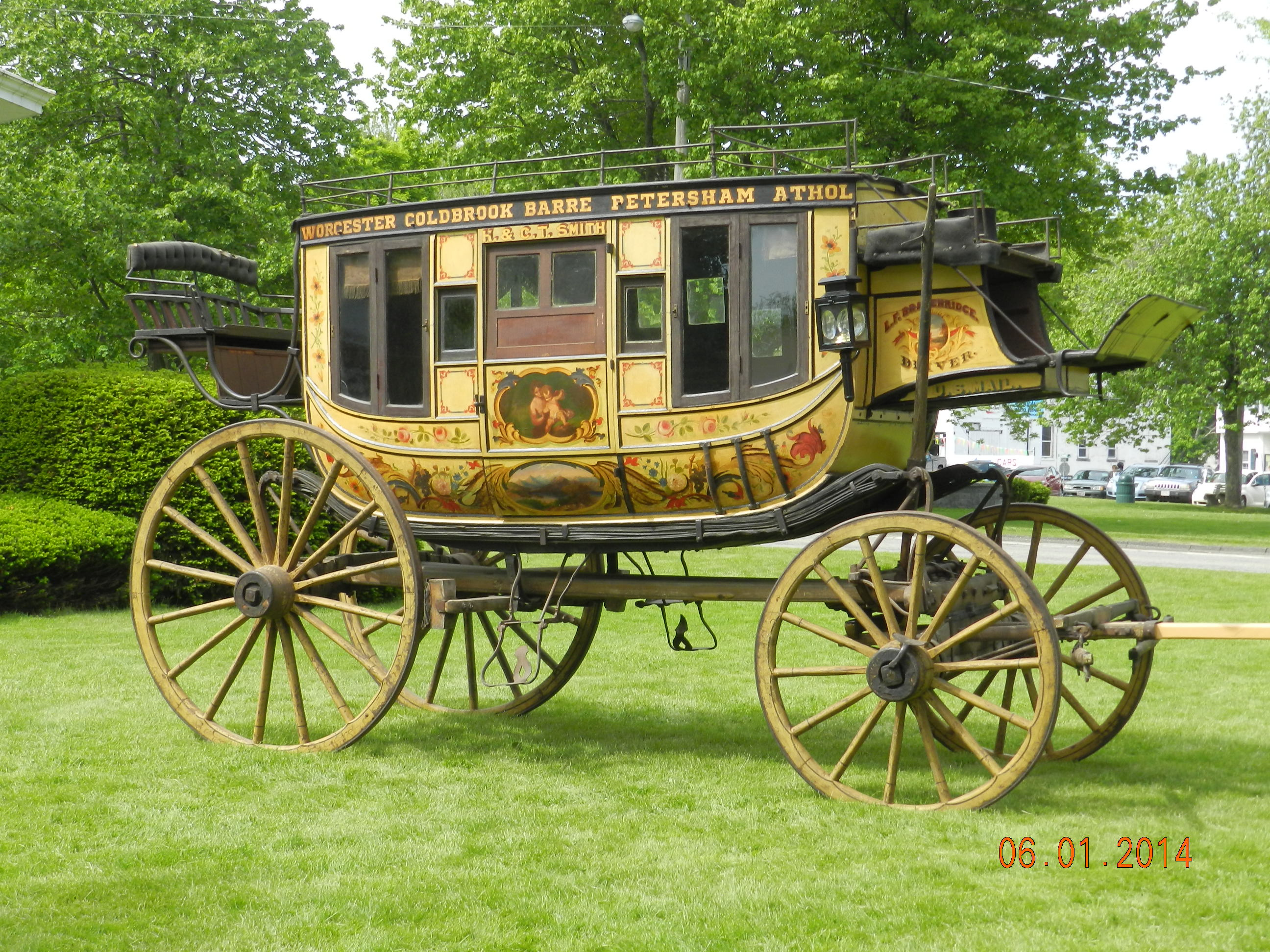Our Conserved 1859 Concord Coach