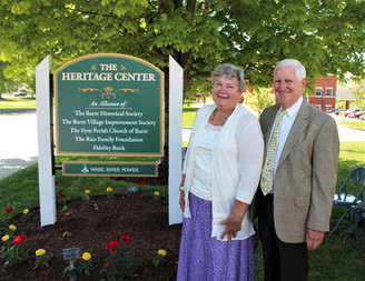 The Heritage Center Dedication