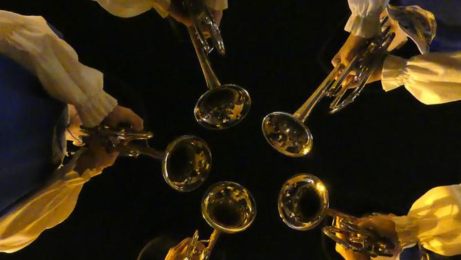 Quintett gen Nachthimmel