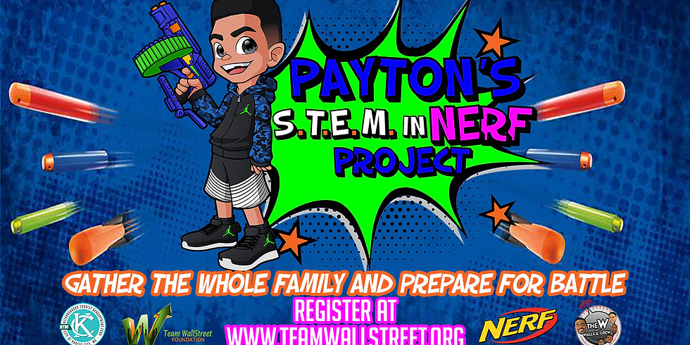 Payton's S.T.E.M. In NERF Project