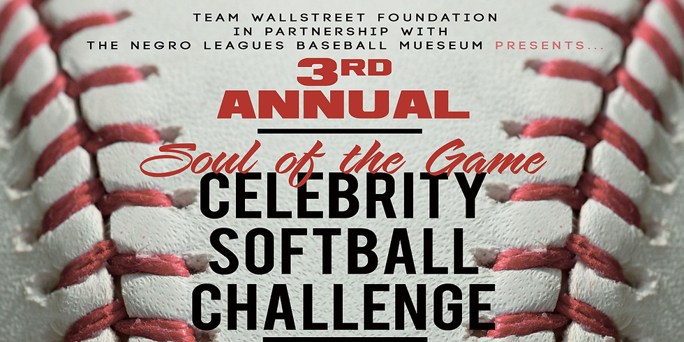3rd Annual Soul of The Game Celebrity Softball Challenge