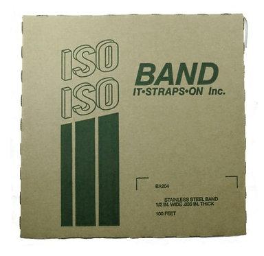 """FLEJE 1/2"""" ISO, ACERO INOX 201 (TipoBAND-IT)"""