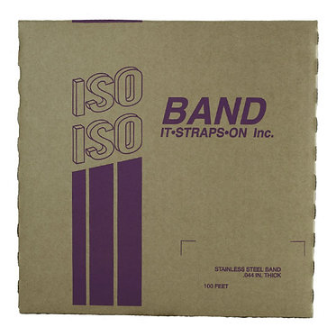 """FLEJE 1"""" ISO, ACERO INOX 201 (TipoBAND-IT)"""
