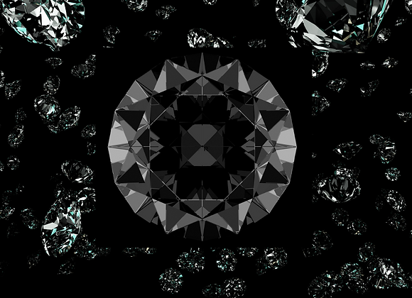 Diamant Noir I Diffuseur à tiges