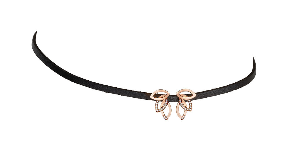 Double leaves choker