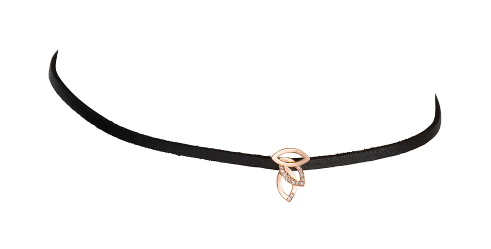 Three Leaves Choker