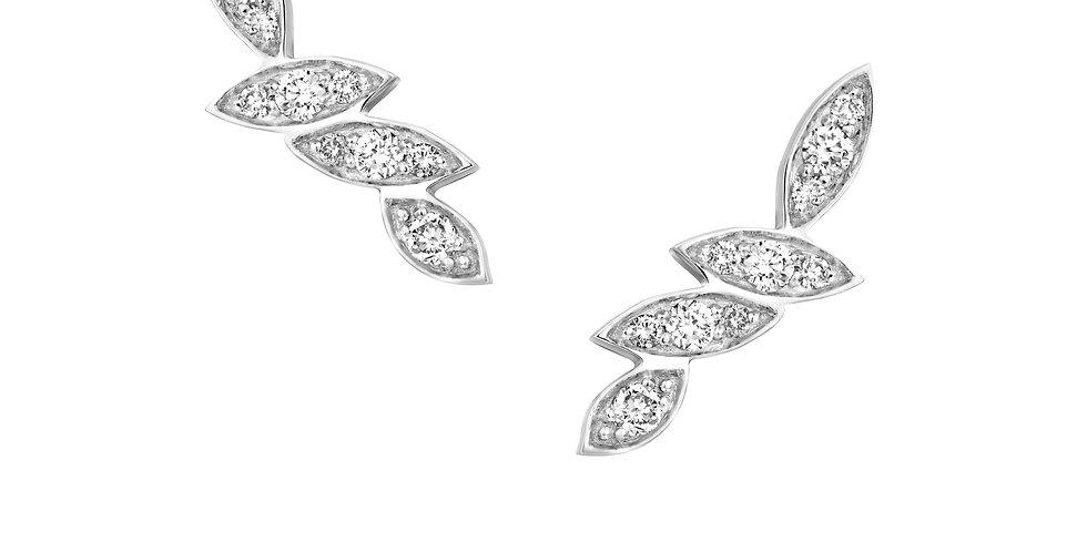 Four Leaves Diamonds Earrings
