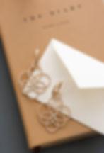 Rose Gold & Diamonds Arabesque Earrings