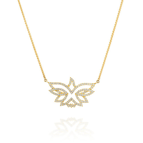Dove of Peace Diamond Pendant