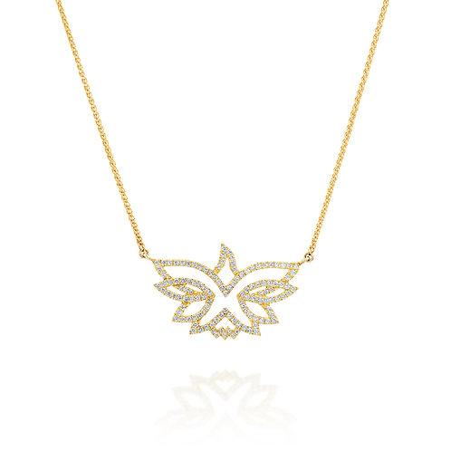 Diamonds Dove of Peace Pendant