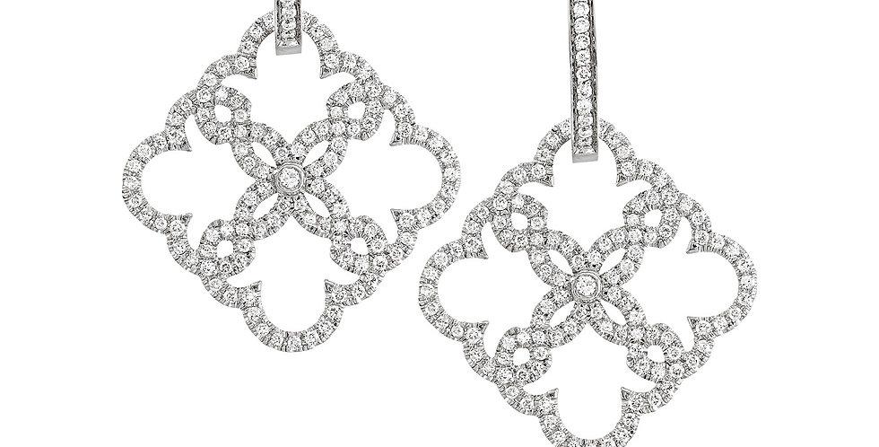 Lace Earrings -small / Pendant