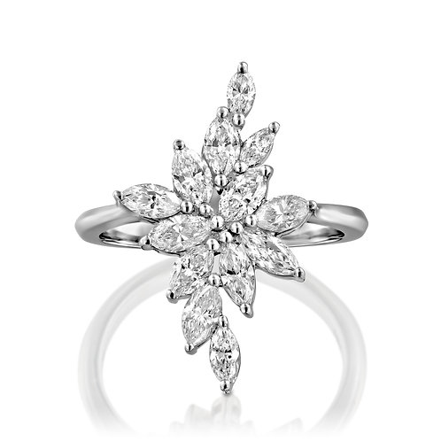 The Marquise Diamonds Ring